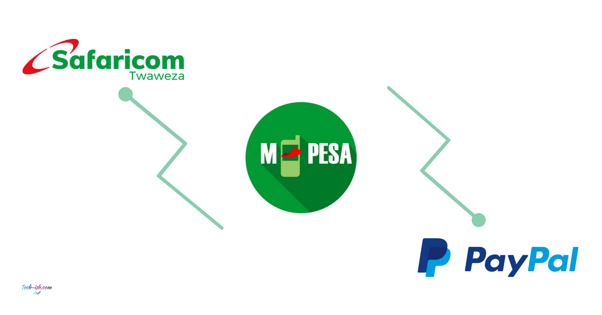 How to link Safaricom M-Pesa with PayPal