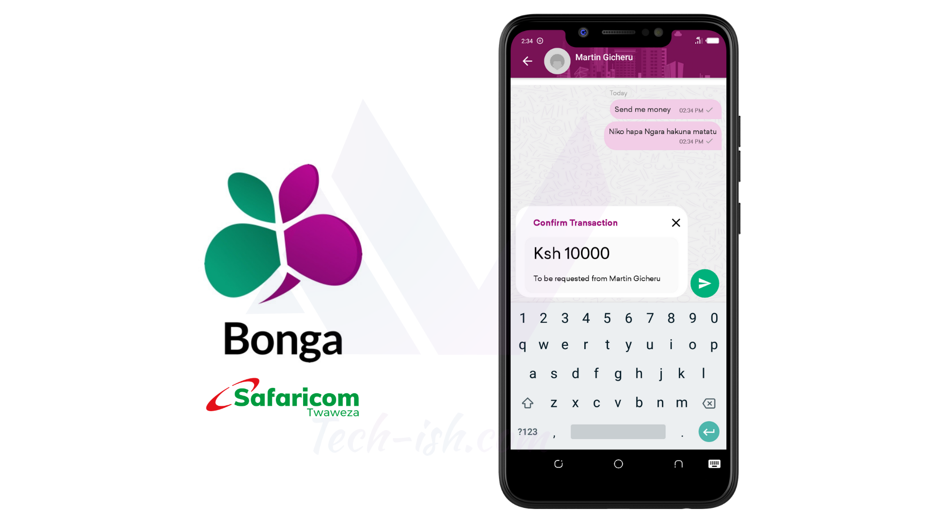 Bonga video chat