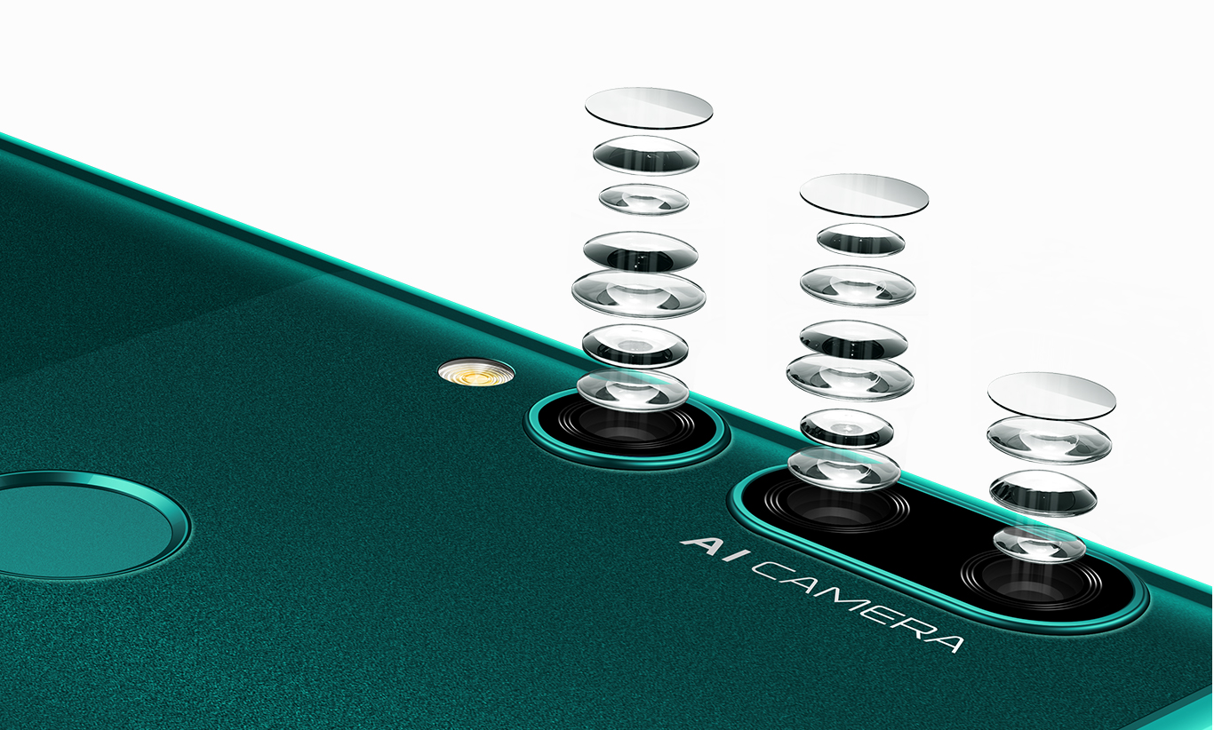 Huawei Y9 Prime 2019 with Pop-up Selfie and Triple Cameras