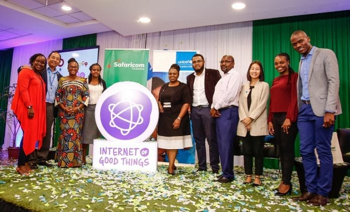 UNICEF partners with Safaricom to Launch Internet of Good Things in Kenya