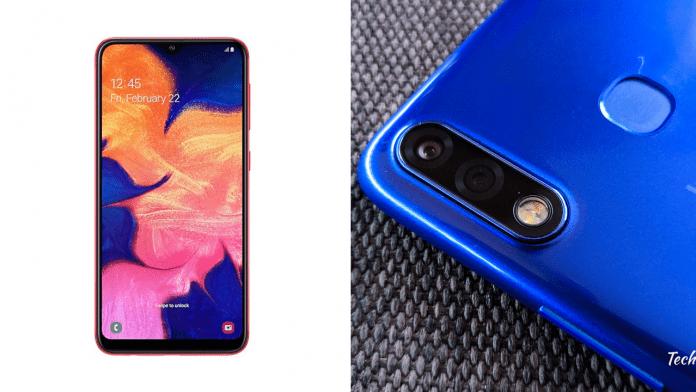 Samsung Galaxy A10 vs Infinix Hot 7