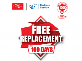 itel 100 days free replacement