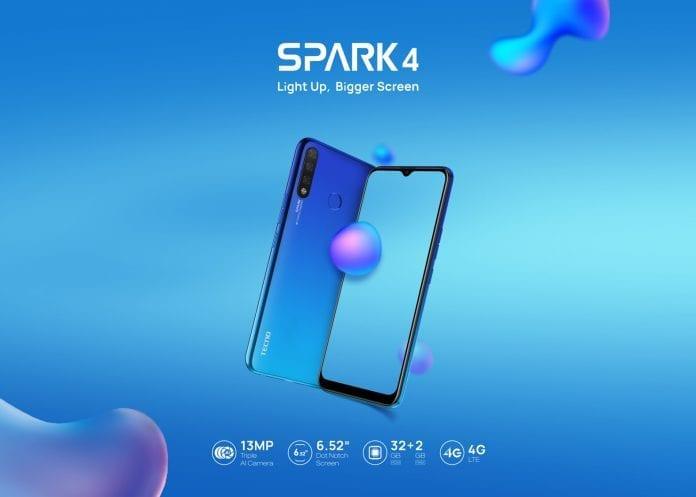 TECNO Spark 4 Kenya Official