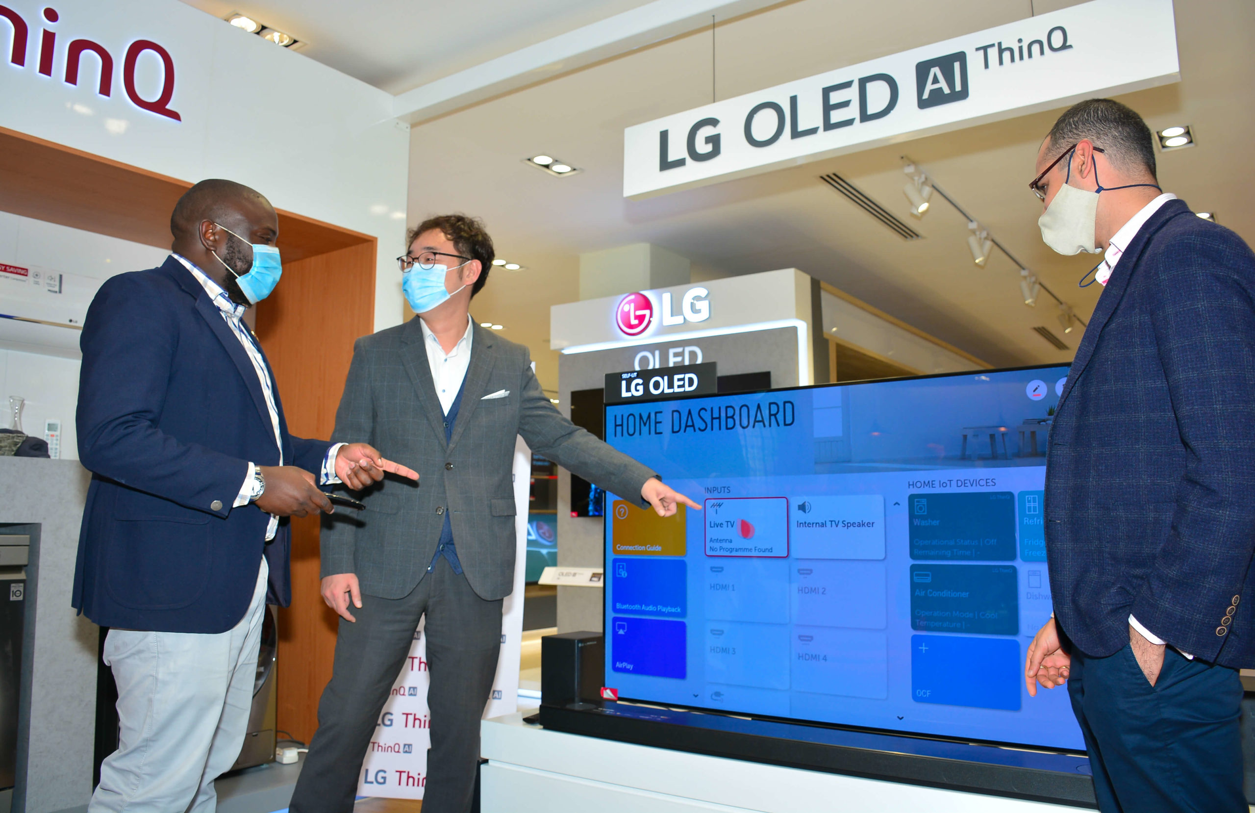 LG launches ThinQ Experience Zone at Sarit Centre